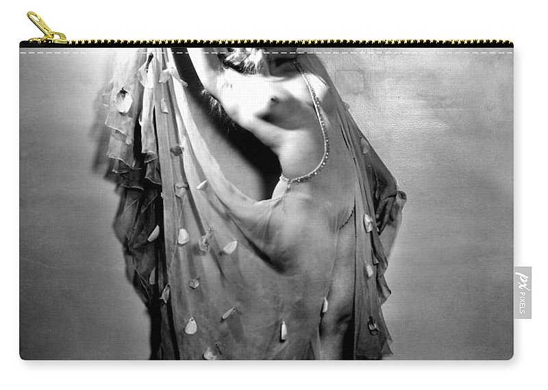 1933 Carry-all Pouch featuring the painting Sally Rand (1904-1979) by Granger