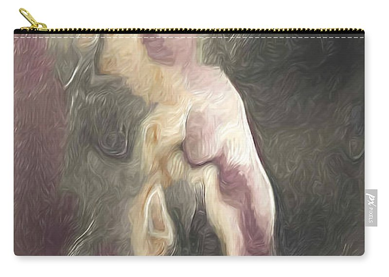 Salome Carry-all Pouch featuring the painting Salome's Dance by Joaquin Abella