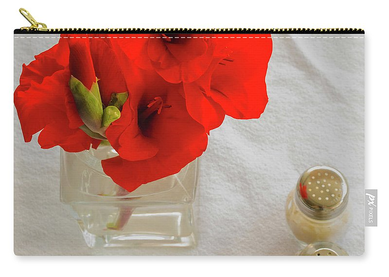 Flowers Carry-all Pouch featuring the photograph Salt And Pepper by James Burton