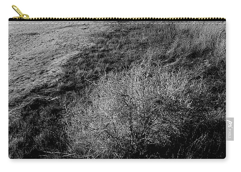 Walk Carry-all Pouch featuring the photograph Salt Lake Walk by Buck Buchanan