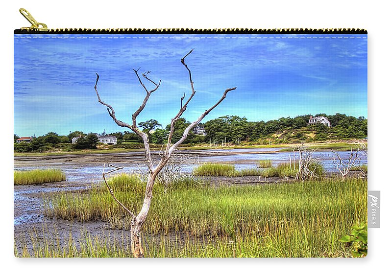 Cape Cod Carry-all Pouch featuring the photograph Salt Marsh by Tammy Wetzel