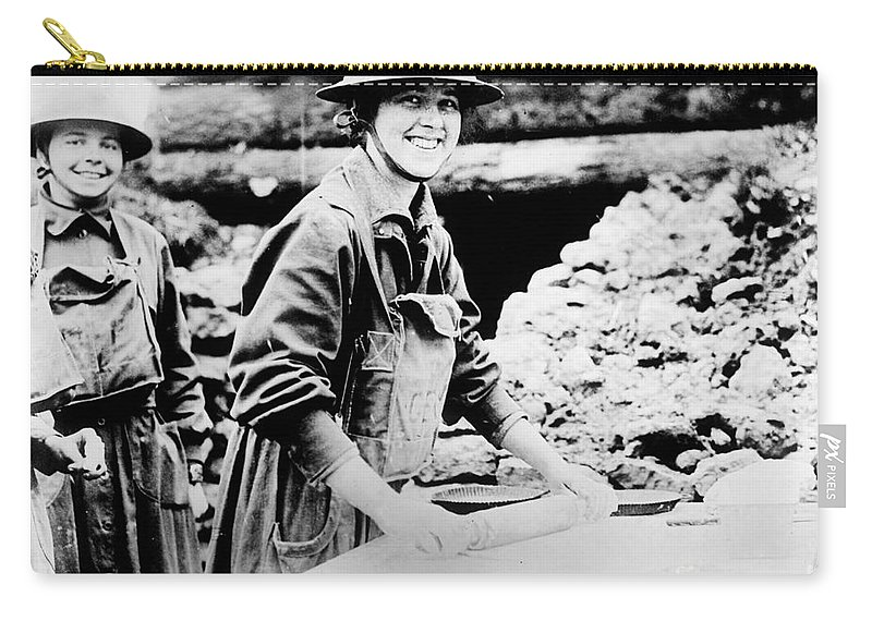 1920 Carry-all Pouch featuring the photograph Salvation Army, C1920 by Granger