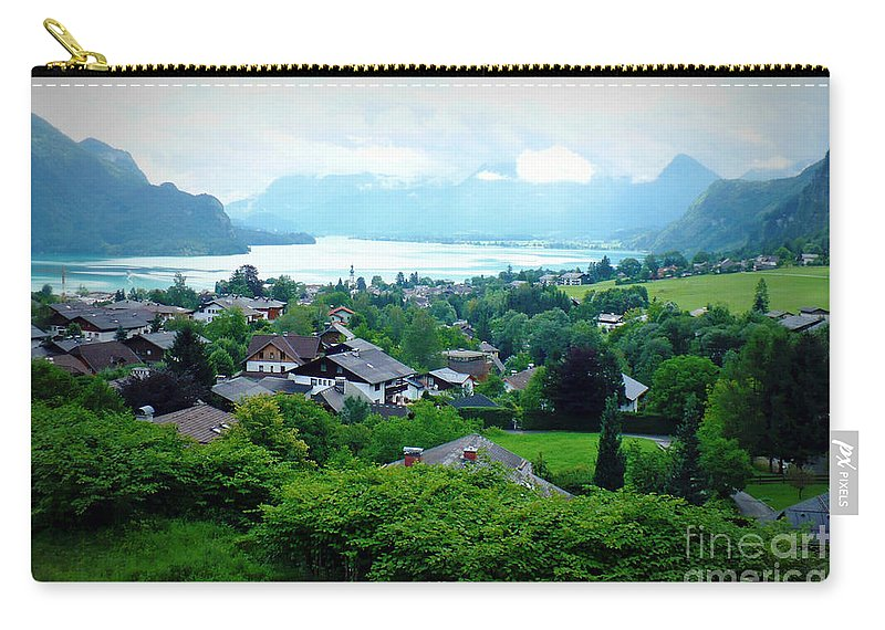 Austria Carry-all Pouch featuring the photograph Salzburg Lake District by Carol Groenen