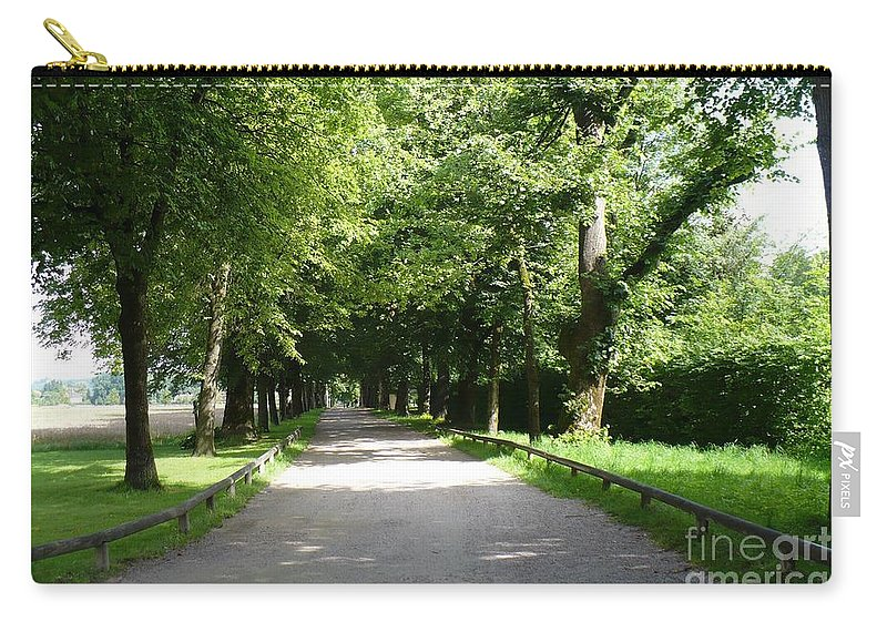 Austria Carry-all Pouch featuring the photograph Salzburg Lane by Carol Groenen
