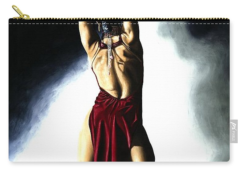 Samba Carry-all Pouch featuring the painting Samba Celebration by Richard Young