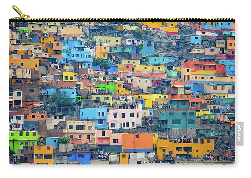 Lima Carry-all Pouch featuring the photograph San Cristobal by Doug Sturgess
