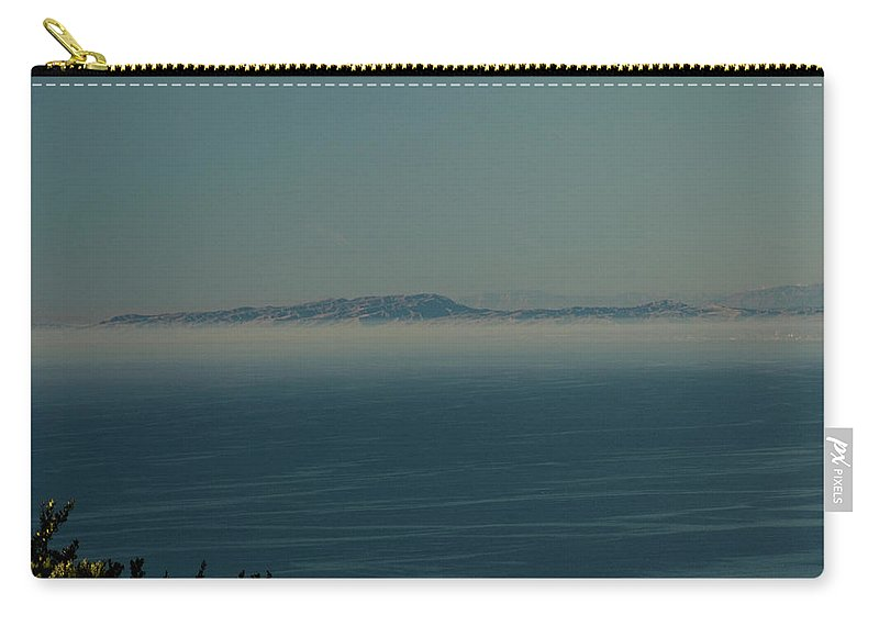 Sea Carry-all Pouch featuring the photograph San Diego December 2008 by Joseph Castiglioni