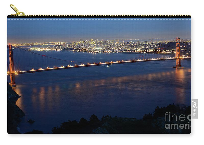 San Francisco Carry-all Pouch featuring the photograph San Francisco by Bob Christopher