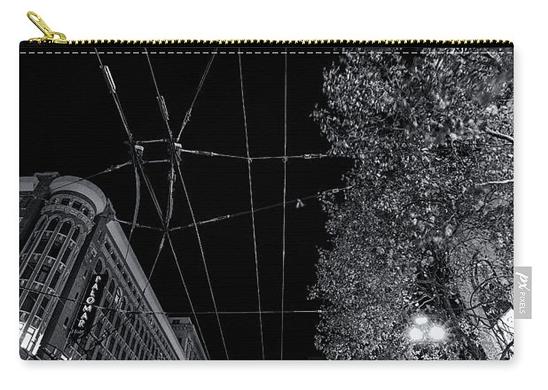 San Francisco In Motion Carry-all Pouch featuring the photograph San Francisco In Motion by Digital Kulprits