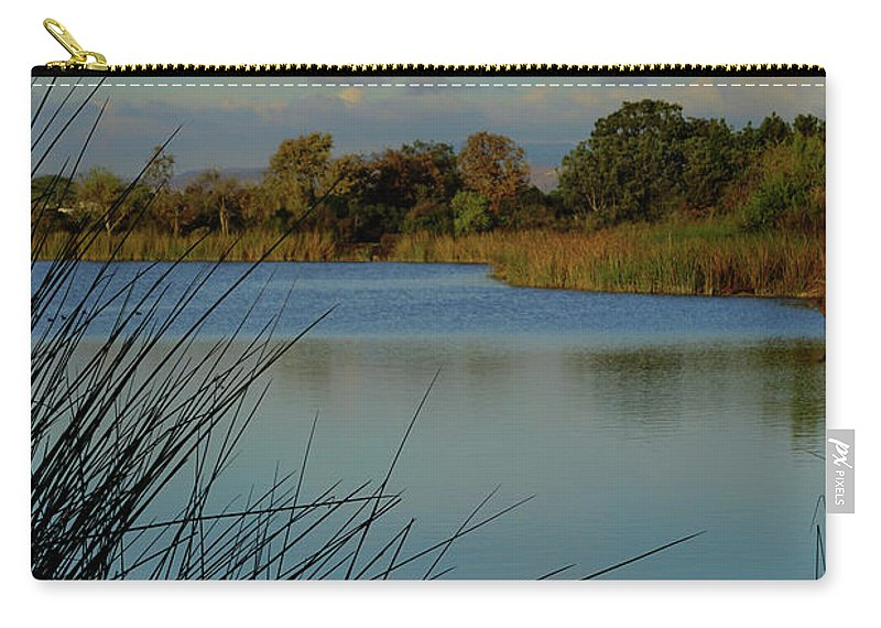 San Joaquin Wildlife Sanctuary Carry-all Pouch featuring the photograph San Joaquin Wildlife Sanctuary by Richard Stephen
