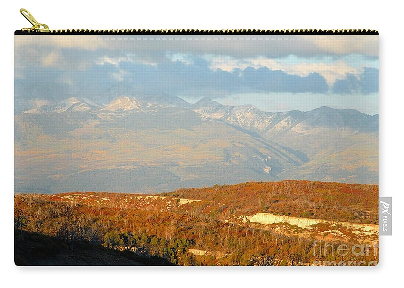 San Juan Mountains Colorado Carry-all Pouch featuring the photograph San Juan Mountains by David Lee Thompson