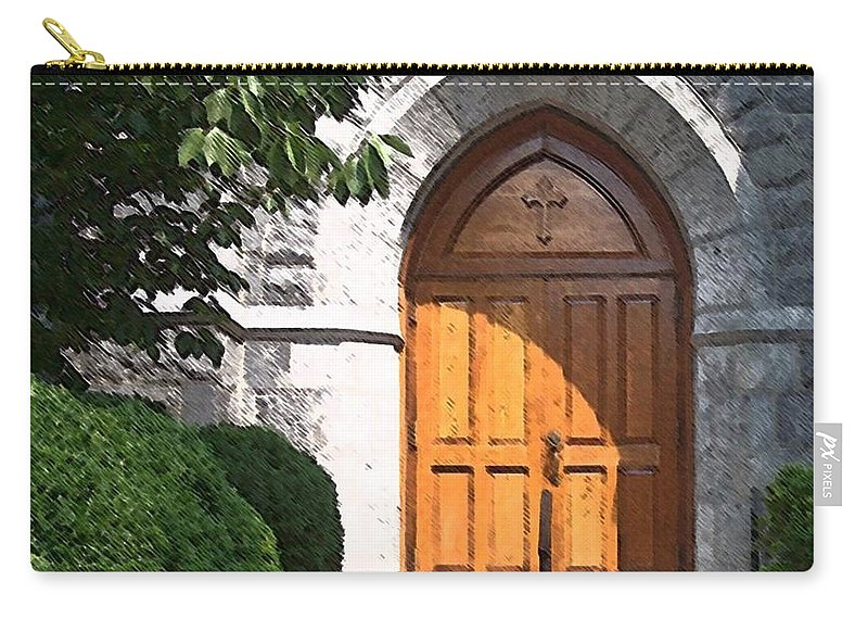 Church Carry-all Pouch featuring the photograph Sanctuary by Debbi Granruth