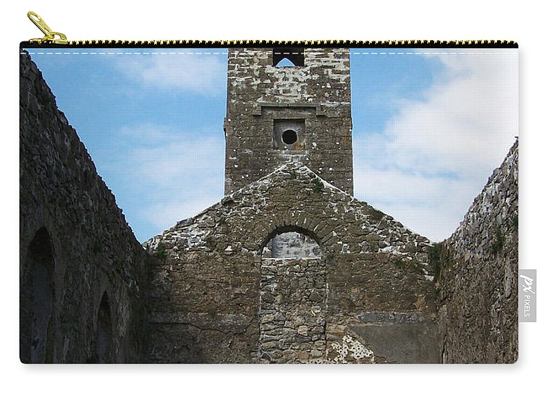 Ireland Carry-all Pouch featuring the photograph Sanctuary Fuerty Church Roscommon Ireland by Teresa Mucha