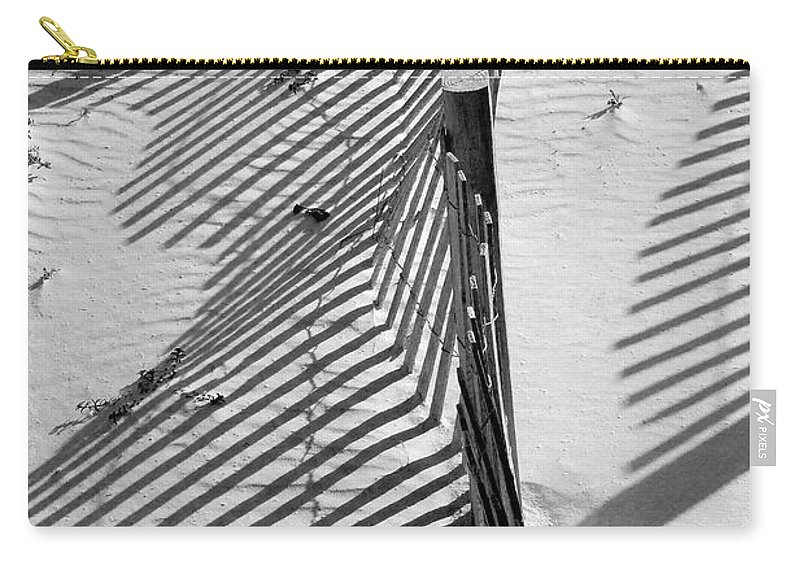 Beach Carry-all Pouch featuring the photograph Sand And Sun by Robert Meanor