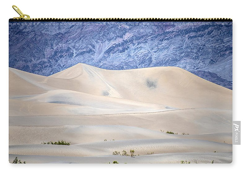 Desert Carry-all Pouch featuring the photograph Sand Desert Usa by Patrick Boening