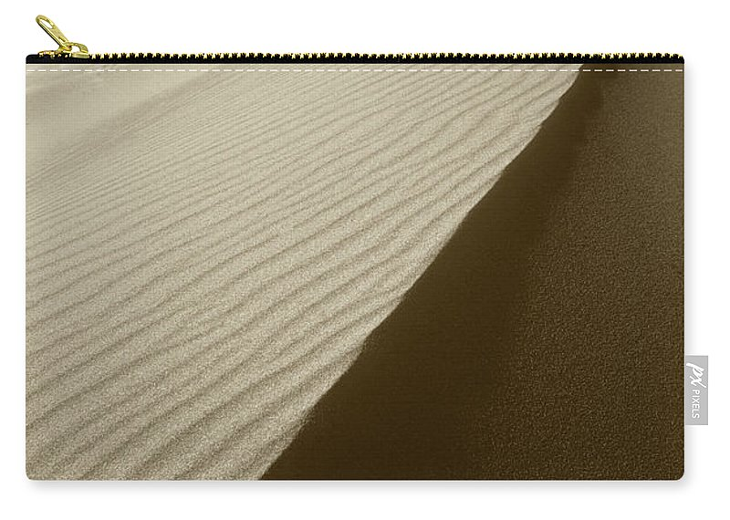 Dunes Carry-all Pouch featuring the photograph Sand Dunes by Steve Williams