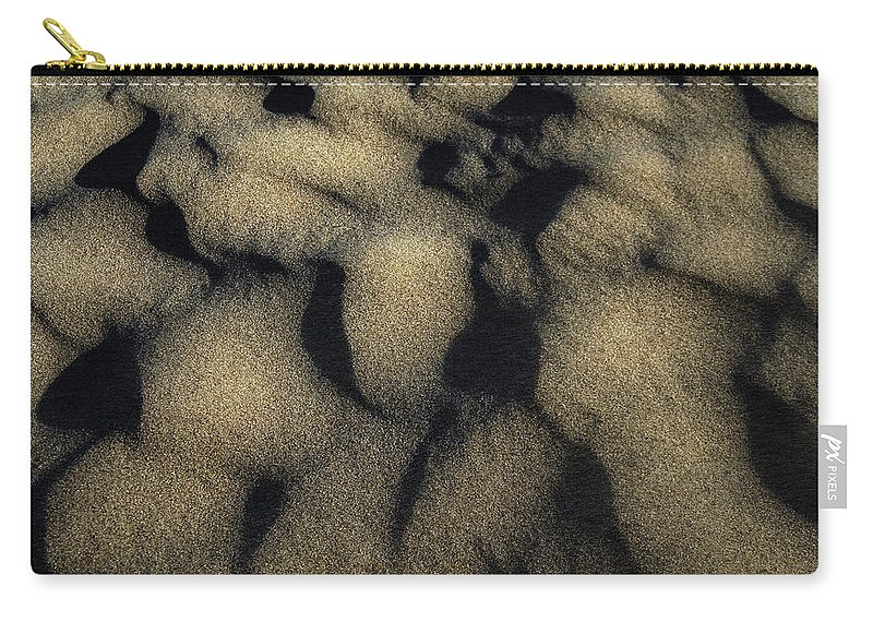 Sand Carry-all Pouch featuring the photograph Sands Of Time by Donna Blackhall