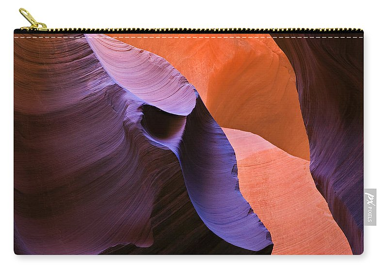 Sandstone Carry-all Pouch featuring the photograph Sandstone Apparition by Mike Dawson