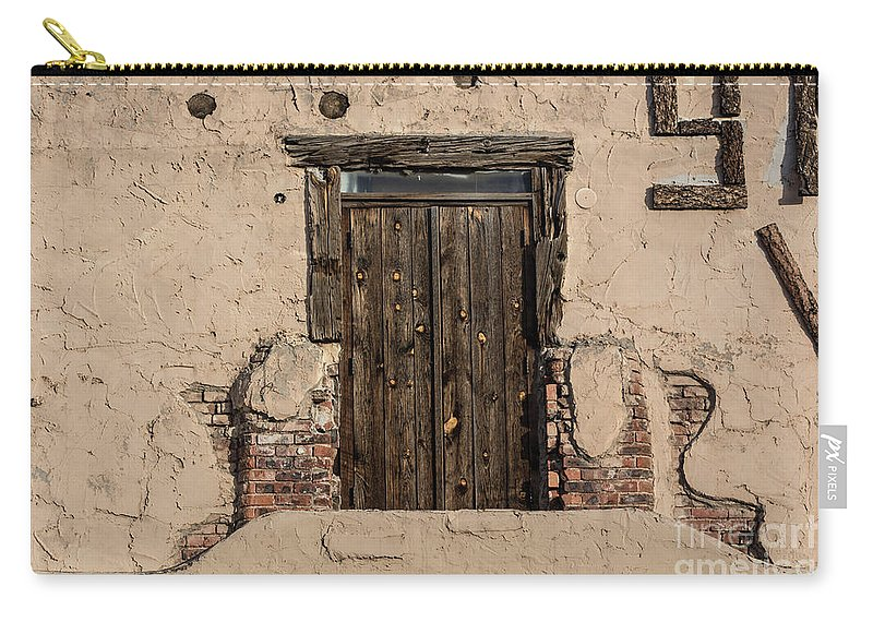 Santa Fe Carry-all Pouch featuring the photograph Santa Fe by John Greco