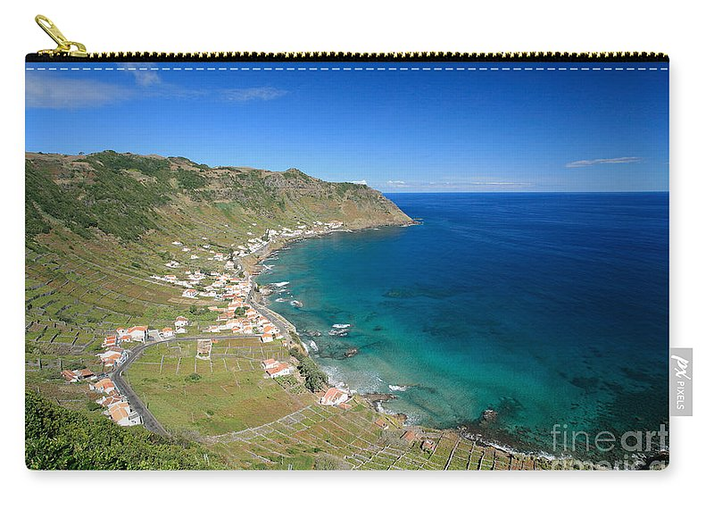 Azores Carry-all Pouch featuring the photograph Santa Maria Azores II by Gaspar Avila