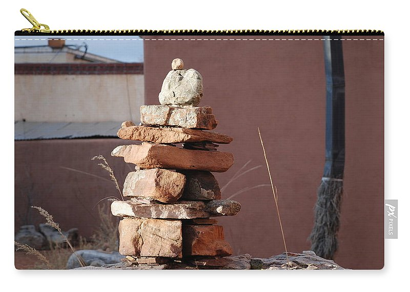 Pop Art Carry-all Pouch featuring the photograph Sante Fe Rocks by Rob Hans