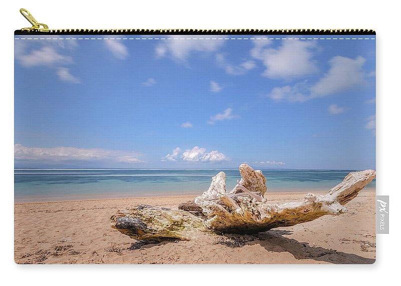 Sanur Beach Carry-all Pouch featuring the photograph Sanur Beach - Bali by Joana Kruse