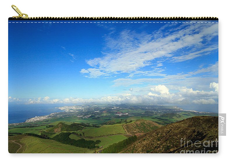 Azores Carry-all Pouch featuring the photograph Sao Miguel Island by Gaspar Avila