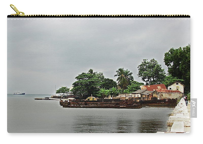 Sao Tome And Principe Carry-all Pouch featuring the photograph Sao Tome And Principe II by Brett Winn