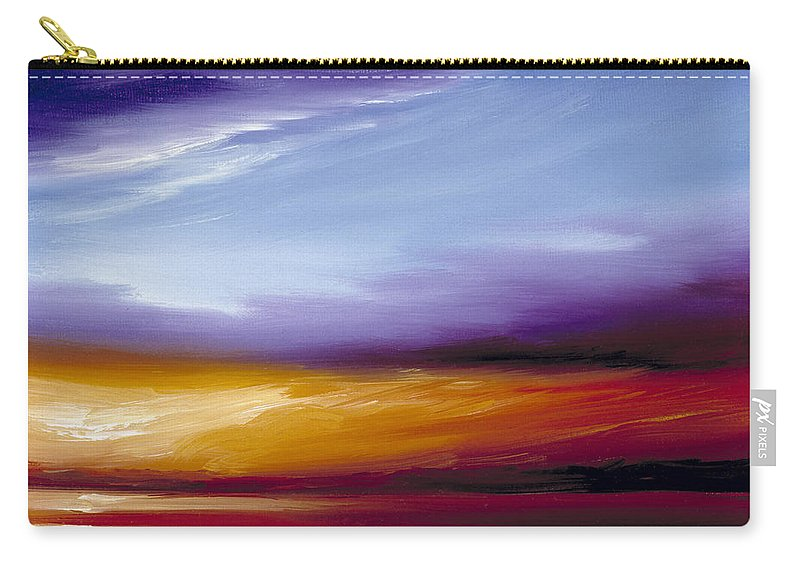 Skyscape Carry-all Pouch featuring the painting Sarasota Bay II by James Christopher Hill