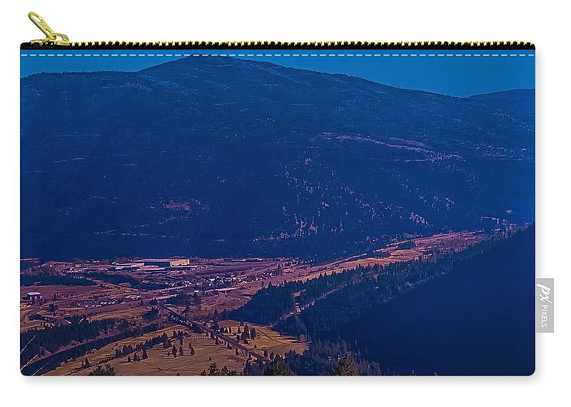 Carry-all Pouch featuring the photograph Satirical Scene by Dan Hassett