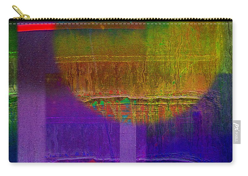 Landscape Carry-all Pouch featuring the painting Saturn Lavender by Charles Stuart