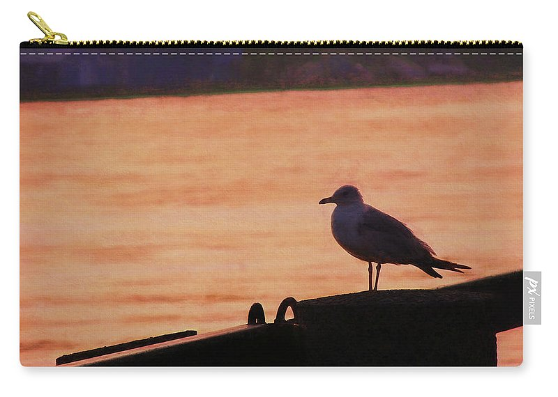 River Carry-all Pouch featuring the photograph Savannah River by JAMART Photography