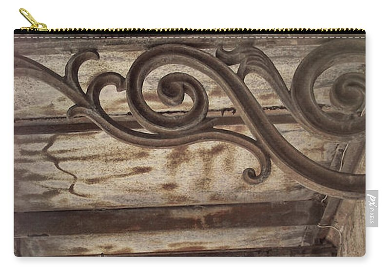 Savannah Carry-all Pouch featuring the photograph Savannah Scroll by JAMART Photography