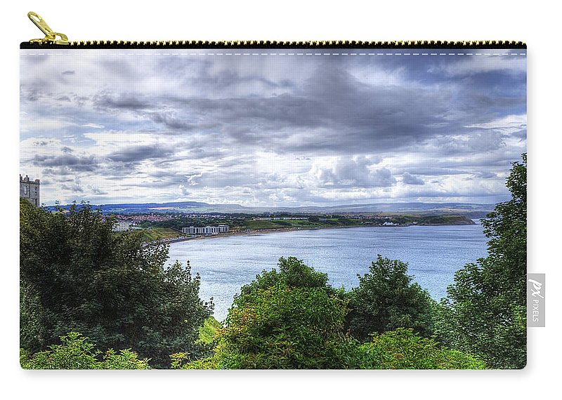 Beach Carry-all Pouch featuring the photograph Scarborough Bay by Svetlana Sewell