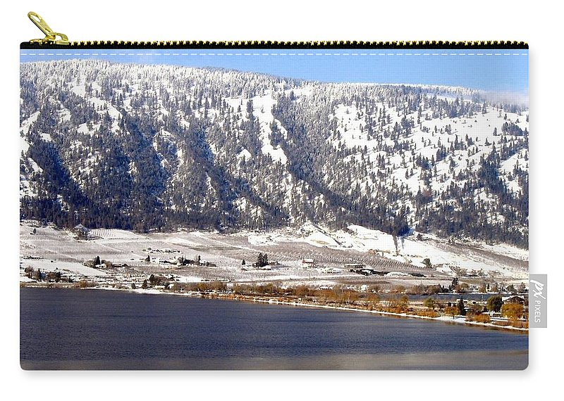 Oyama Carry-all Pouch featuring the photograph Scenic Oyama by Will Borden
