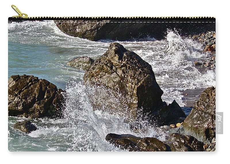 Sea Carry-all Pouch featuring the photograph Scenic Sea by Diana Hatcher