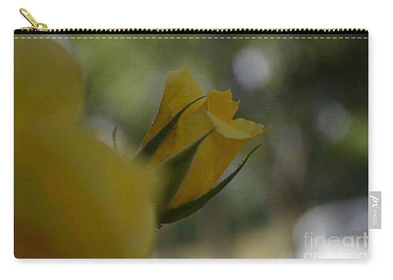 Eva Maria Nova Carry-all Pouch featuring the photograph Scent Of A Rose by Eva Maria Nova