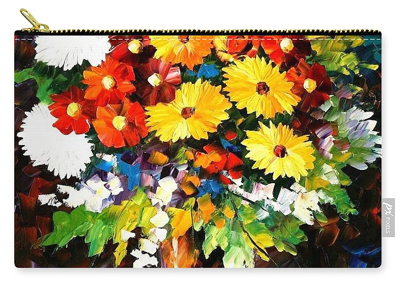 Afremov Carry-all Pouch featuring the painting Scent Of The Night by Leonid Afremov