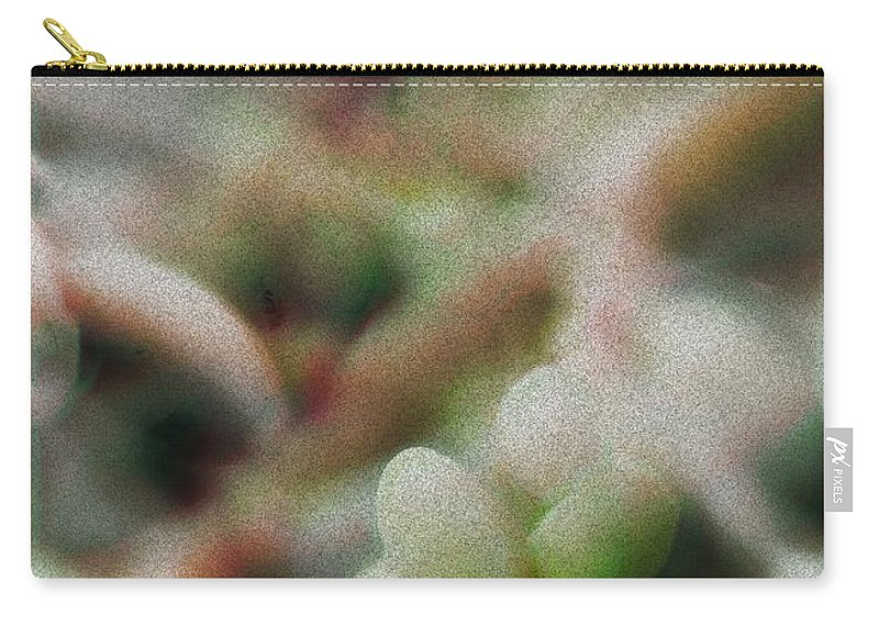 Palm Pods Carry-all Pouch featuring the photograph School Of Curiosity 09 by Vicki Ferrari