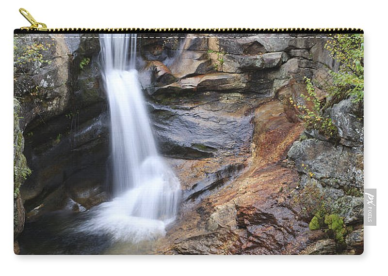 Nature Carry-all Pouch featuring the photograph Screw Auger Falls - Maine by Erin Paul Donovan