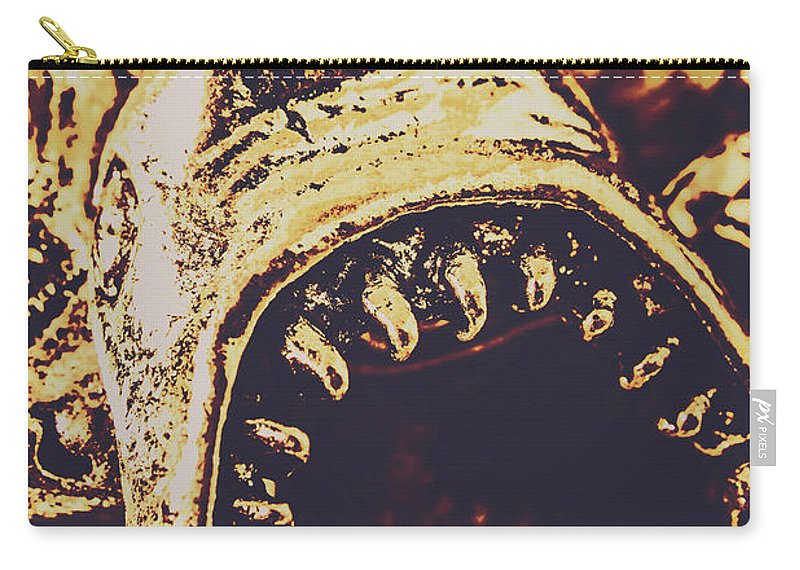 Maritime Carry-all Pouch featuring the photograph Sea Bites by Jorgo Photography - Wall Art Gallery