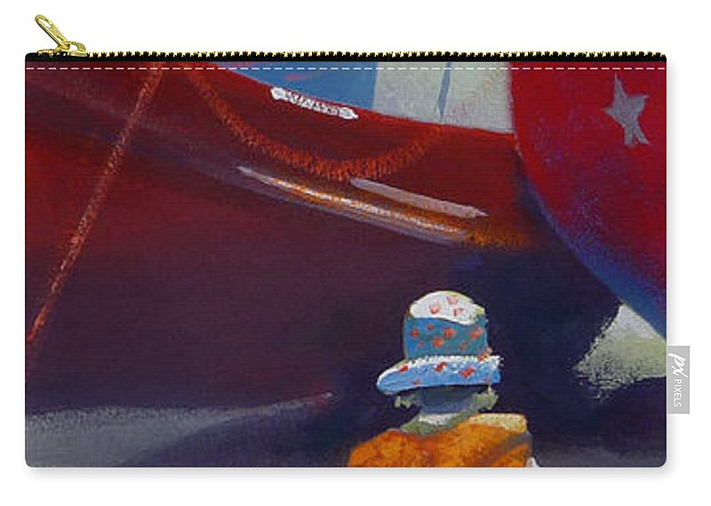 Dreamscape Carry-all Pouch featuring the painting Sea Dreamer by Charles Stuart