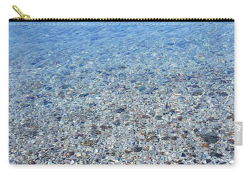 Sea Carry-all Pouch featuring the photograph sea by Leyla Gurlek
