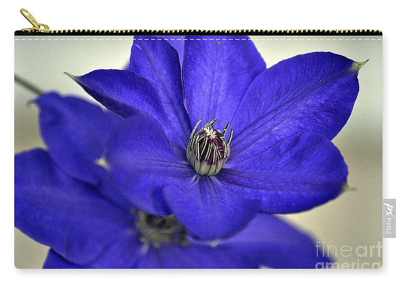Clay Carry-all Pouch featuring the photograph Sea Of Blue by Clayton Bruster