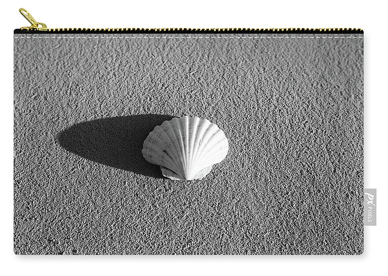Turks And Caicos Carry-all Pouch featuring the photograph Sea Shell by Ferry Zievinger