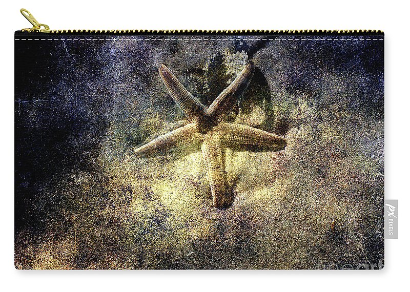 Sea Star Carry-all Pouch featuring the photograph Sea Star by Susanne Van Hulst