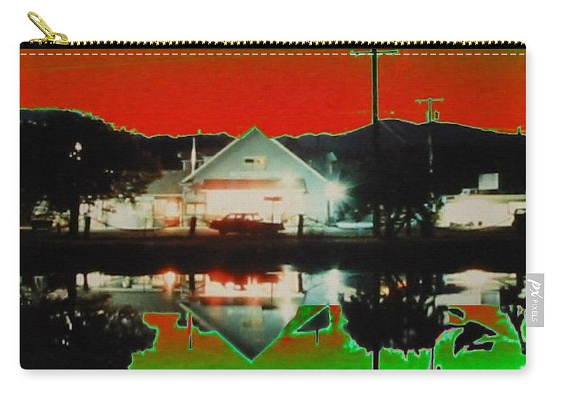 Seabeck Carry-all Pouch featuring the photograph Seabeck General Store by Tim Allen