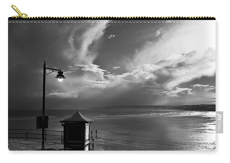 Beach Carry-all Pouch featuring the photograph Seafront by Svetlana Sewell