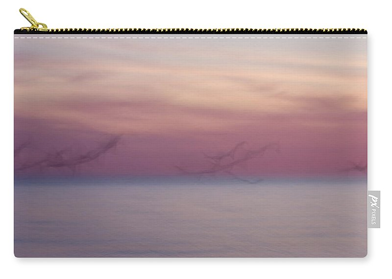 3scape Carry-all Pouch featuring the photograph Seagulls In Motion by Adam Romanowicz