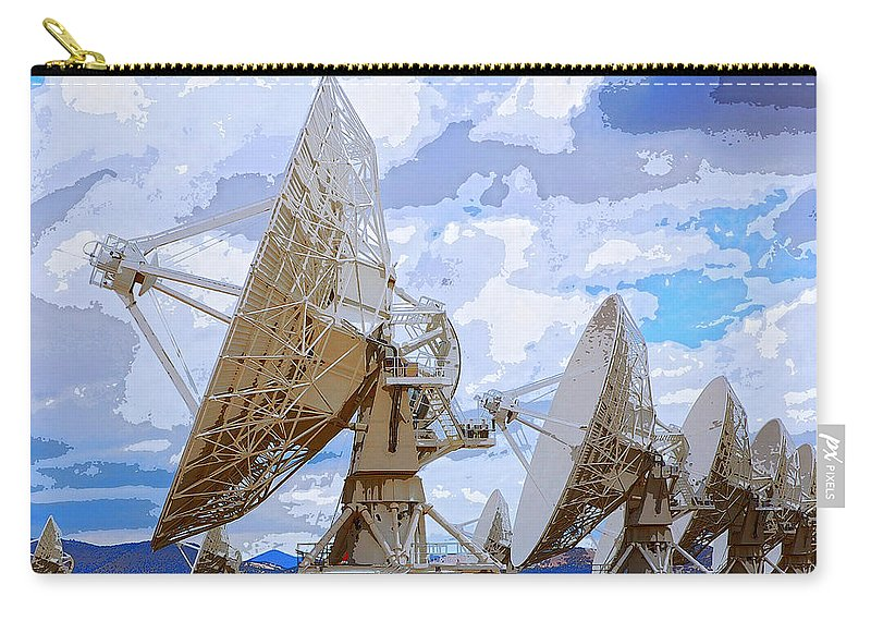 Seti Carry-all Pouch featuring the mixed media Searching by Dominic Piperata